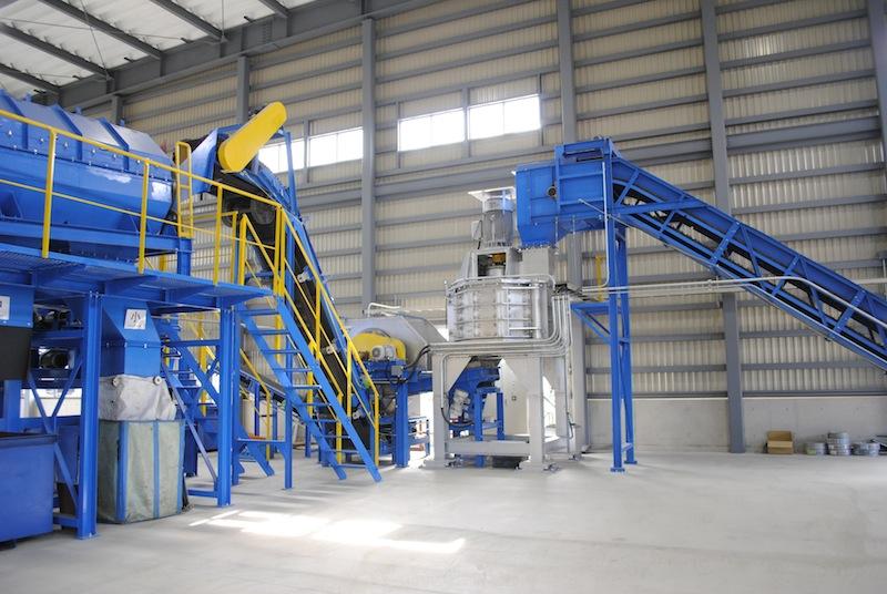 小型家電リサイクル事業